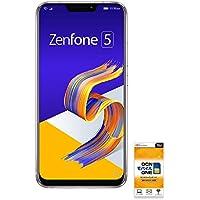 ASUS ZenFone 5 (ZE620KL) 【OCNモバイルONE SIM付】 (音声・SMS・データ共通SIM スペースシルバー)