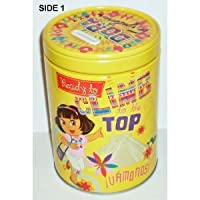 Round Coin Bank - Dora the Explorer - Ready to Climb Tin Box New Toys 465207-1