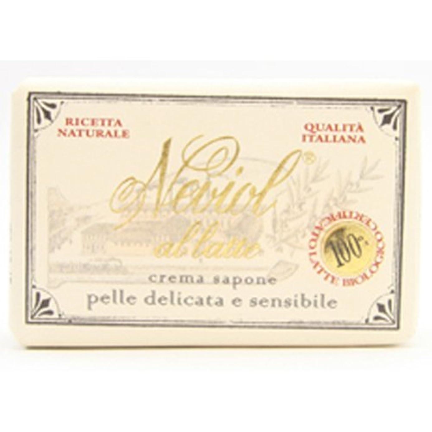 グラムほとんどない献身Saponerire Fissi  サポネリーフィッシー milk baby soap ミルク ベビー ソープ 150g cream sapone