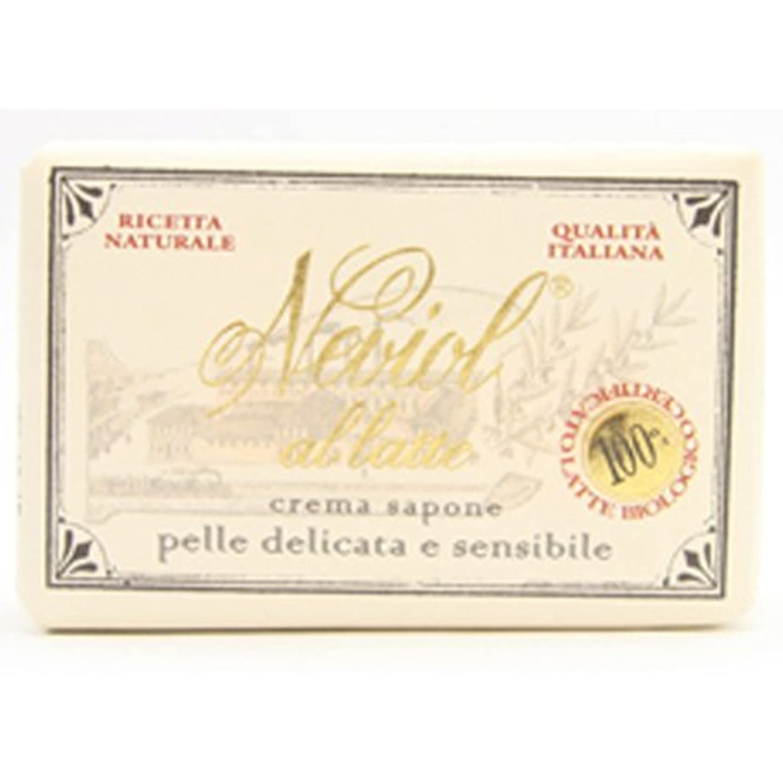 バイオレット気分代表するSaponerire Fissi  サポネリーフィッシー milk baby soap ミルク ベビー ソープ 150g cream sapone
