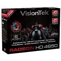 VisionTek Radeon HD 46501GB PCI - E 2.0VGA DVI HDVビデオカード900252