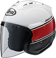 ヤマハ(YAMAHA) バイクヘルメット アライ(ARAI)コラボモデル SZ-RAM4 ストライプ Lサイズ(59~60cm) Q3C-YSK-001-L10