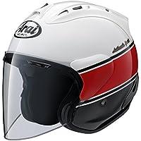 ヤマハ(YAMAHA) バイクヘルメット アライ(ARAI)コラボモデル SZ-RAM4 ストライプ Lサイズ(59-60cm) Q3C-YSK-001-L10 ジェット
