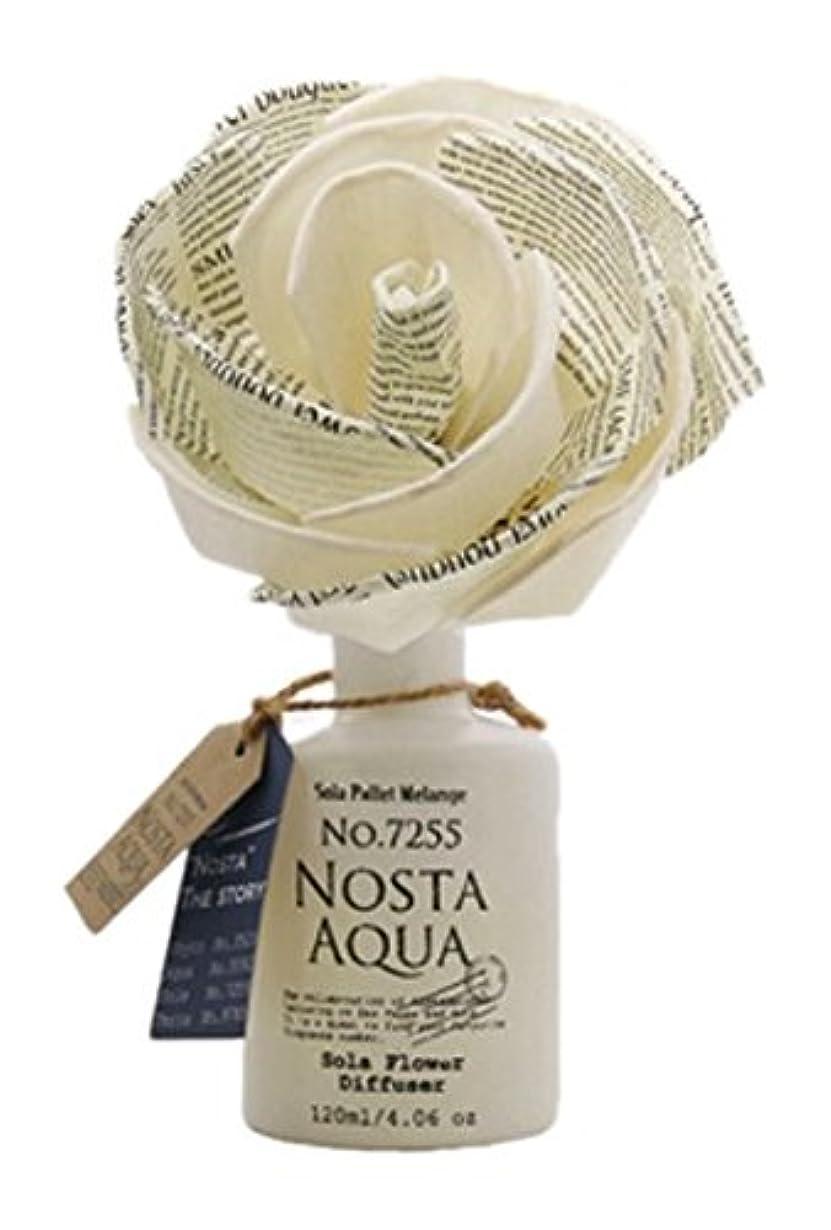 押し下げる小石確認Nosta ノスタ Solaflower Diffuser ソラフラワーディフューザー Aqua アクア/生命の起源