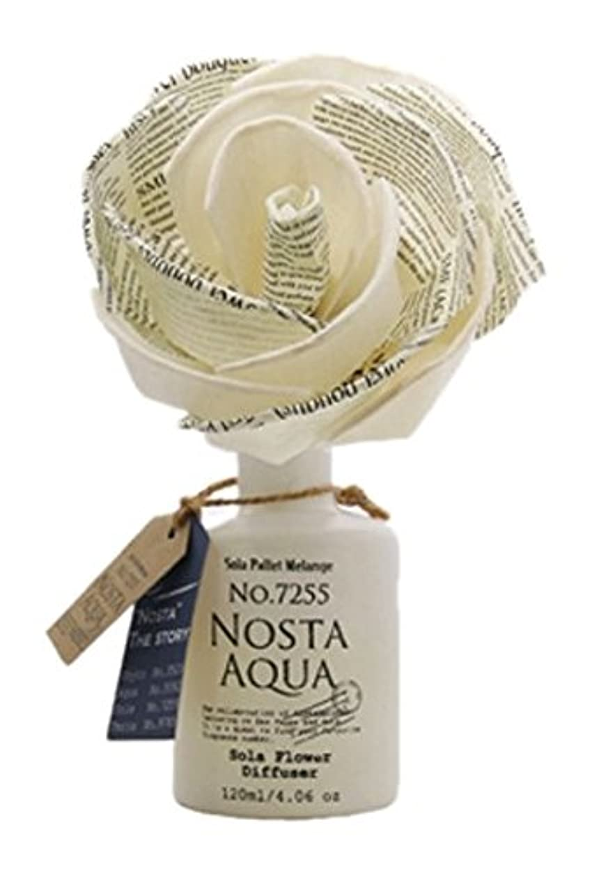 歯科医保険孤独なNosta ノスタ Solaflower Diffuser ソラフラワーディフューザー Aqua アクア/生命の起源