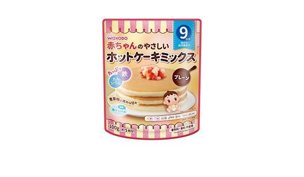 ミックス ケーキ 和光堂 ホット 1才☆バースデーケーキ レシピ・作り方