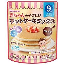 和光堂 やさしいホットケーキミックス かぼちゃとさつまいも 100g×24袋入×(2ケース)
