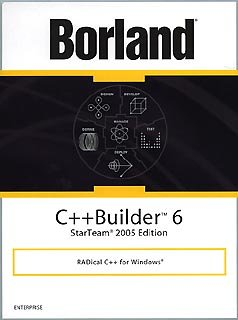 Borland C++Builder 6 Enterprise StarTeam 2005 Edition