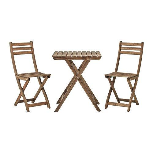 IKEA(イケア):ASKHOLMEN テーブル+チェア2