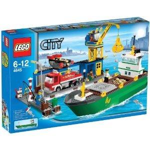 レゴ シティ コンテナ船とハーバー 4645 [並行輸入品]