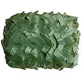 陸軍の緑色の迷彩ネットは、サンシェードを隠すために使用されています屋外の森林キャンプ保護カー、マルチサイズ (サイズ さいず : 4m*6m)