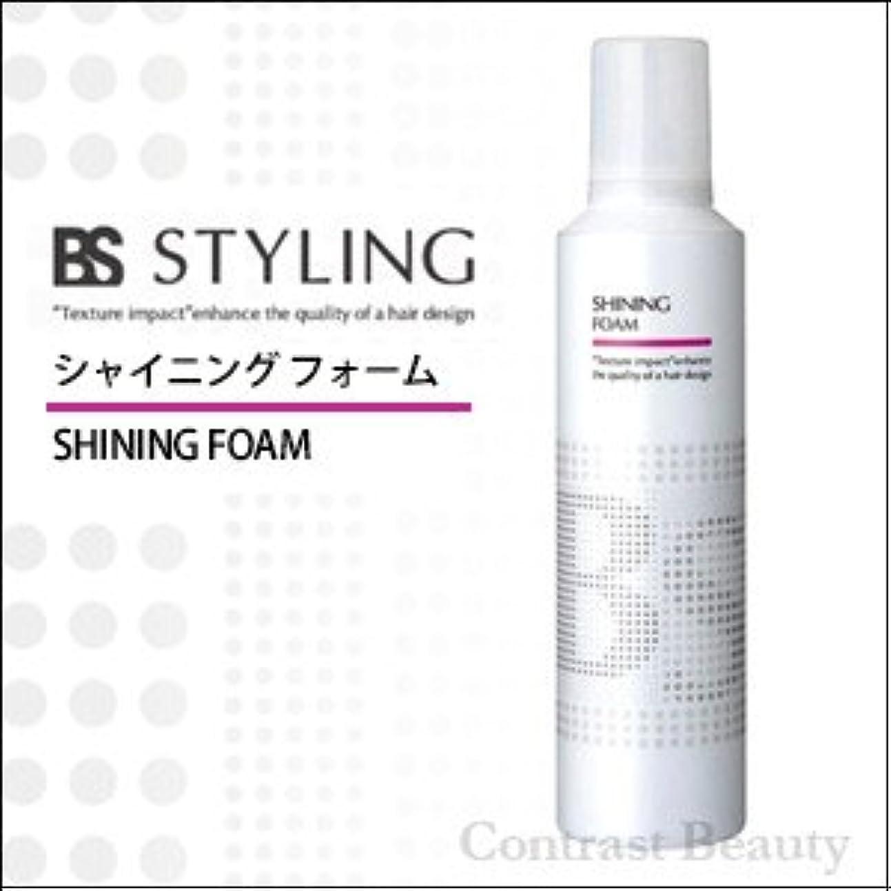 規制すきメタリック【x4個セット】 アリミノ BS STYLINGFOAM シャイニングフォーム 230g