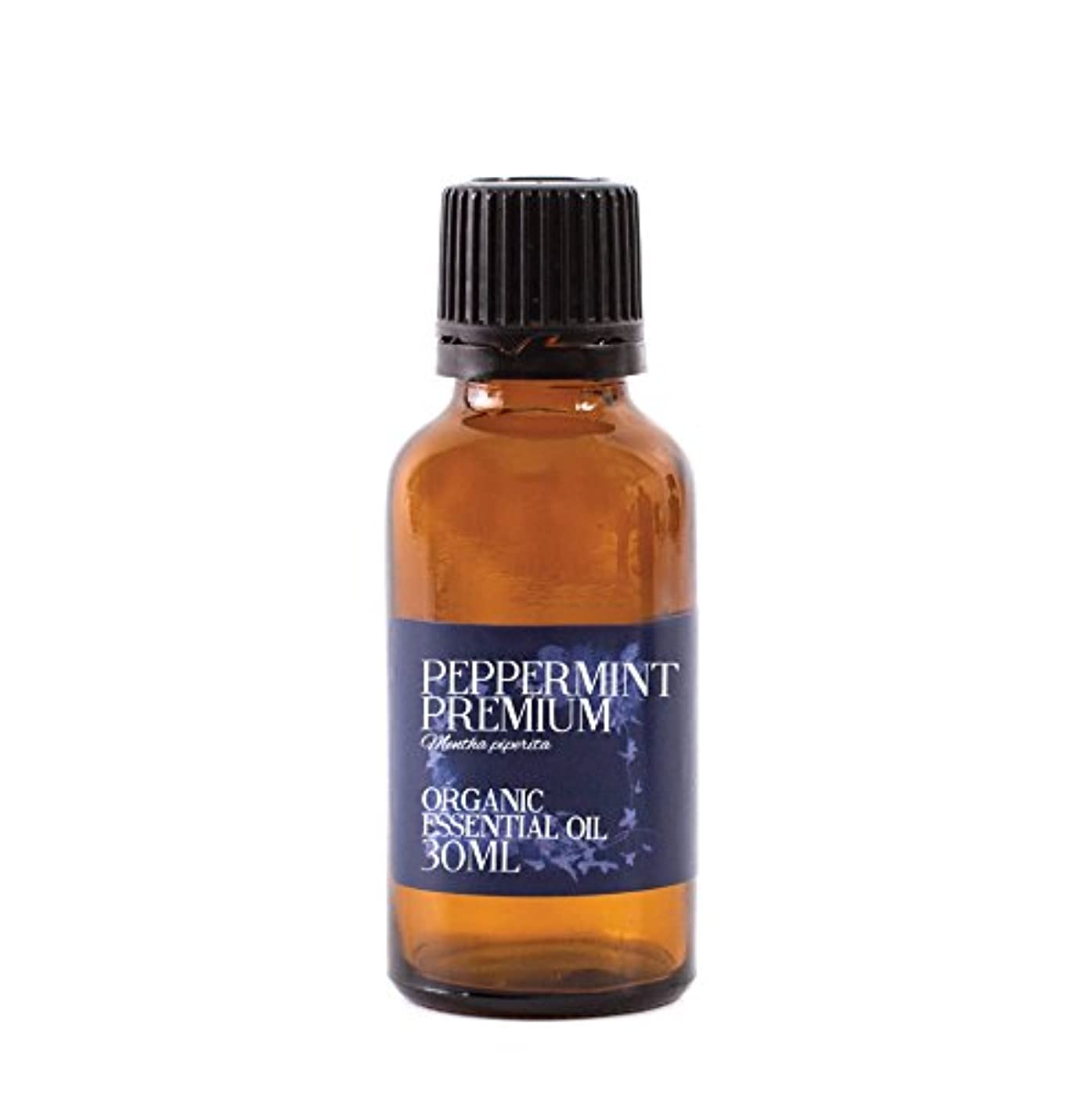 ナサニエル区攻撃的クリームMystic Moments   Peppermint Premium Organic Essential Oil - 30ml - 100% Pure