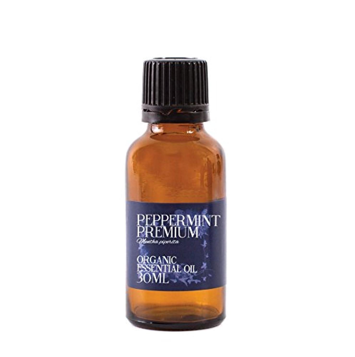 マインド広く退却Mystic Moments   Peppermint Premium Organic Essential Oil - 30ml - 100% Pure