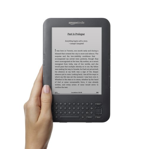 Kindle 3G Wireless Reading Device, Free 3G + Wi-Fi, 3G Works Globally, Graphite, 6