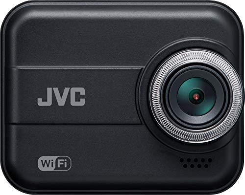 JVC KENWOOD GC-BR21-B リア専用ドライブレコーダー WiFi搭載 フルHD 衝撃感知 LED信号対応 WDR microSDHCカード付属 8mシガープラグコード付属 ブラック
