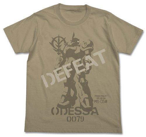 機動戦士ガンダム第08MS小隊 トップの旧ザク Tシャツ サンドカーキ Mサ...
