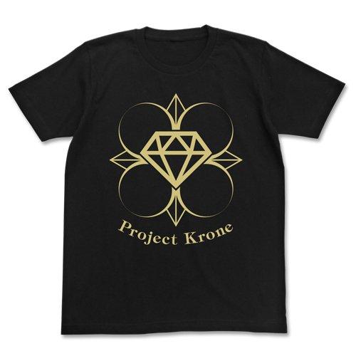 アイドルマスター シンデレラガールズ(ゲーム) Project:Krone Tシャツ ブラック Lサイズ