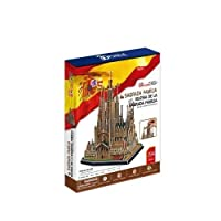 3D puzzle toy CubicFun 3D paper model MC153h iglesia de la sagrada familia by TwoRay [並行輸入品]