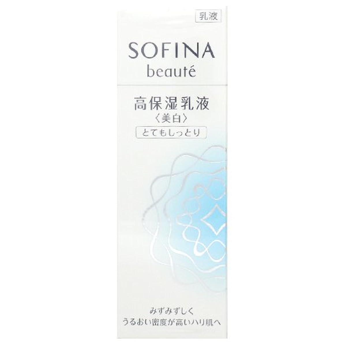 お茶焦がす謎めいた花王 ソフィーナ ボーテ 高保湿乳液 美白 とてもしっとり 60g