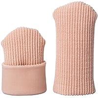 [Sawors] 足指クッション 足指保護キャップ つま先用インソール まめ・タコの保護サック ささくれ巻き爪 タコ 魚の目 調整可能 手指両用 メンズ レディーズ用 2個入