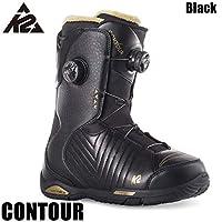 ケーツー コンツアー スノーボードブーツ K2 CONTOUR BLACK 24.5/25cm レディース 女性用 BOAシステム_Black_25.0cm/8.0