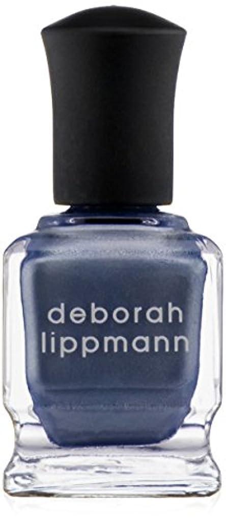 しなやか飾る興奮する[Deborah Lippmann] デボラリップマン ハーレムノクターン HARLEM NOCTURNE とても乾きが速く筋になりにくいクロームシリーズ 夜へ向かう空のような深い青と日の光を混ぜたような 深く静かに光る...