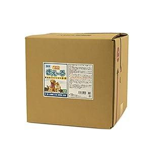 【超大容量】天然成分 ペットにも安心安全の消臭液 きえ〜るペット用 バイオ消臭液 無香 詰替用 超特大サイズ 18L