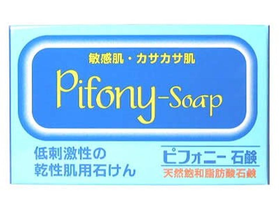 重々しいマイコン荒涼としたピフォニー石鹸 100g