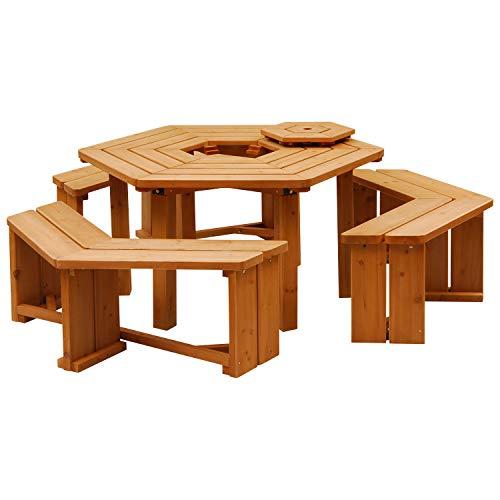 山善『ガーデンマスター パティオテーブル』