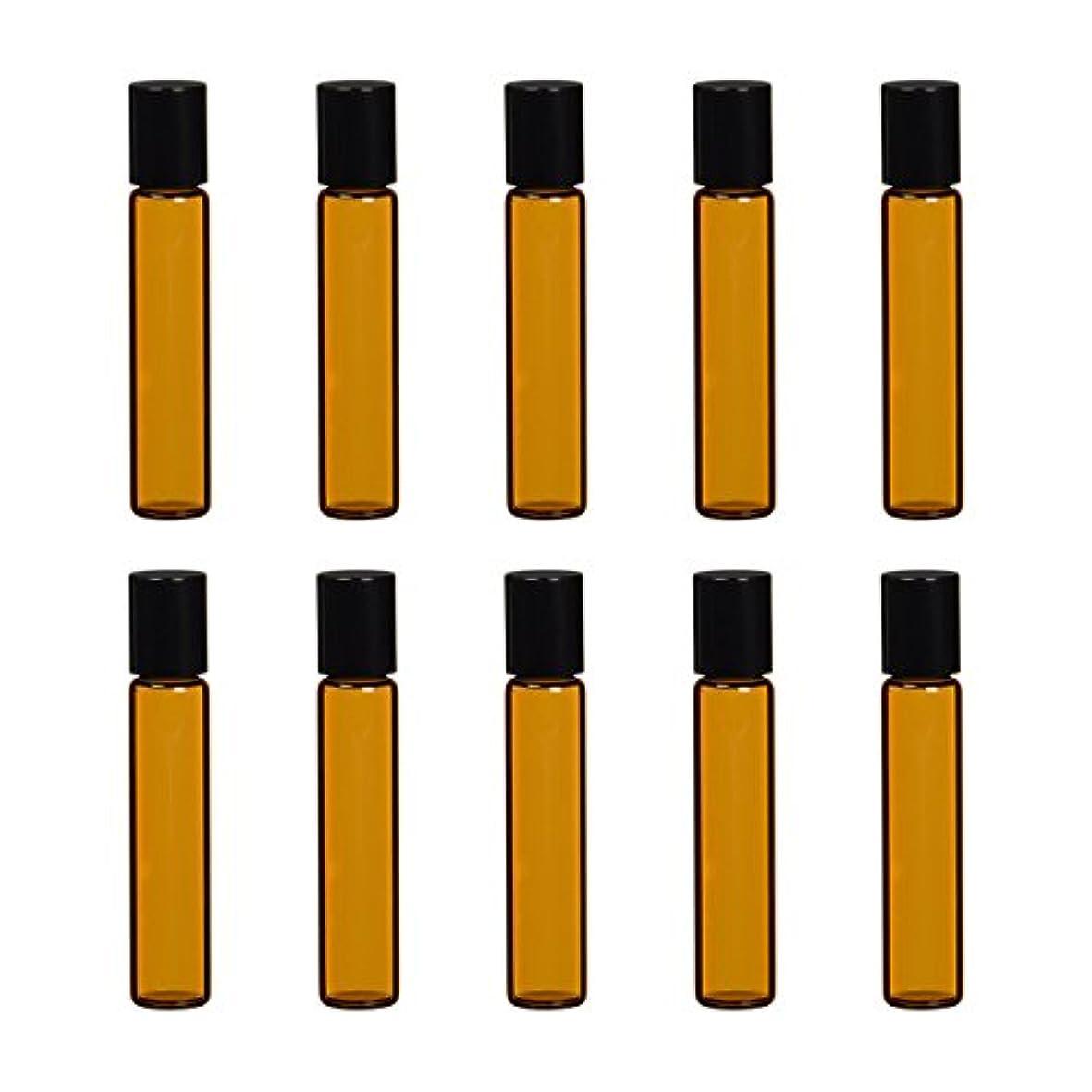 ペリスコープ死んでいるソフィー生活の木 茶色遮光ガラスロールオンボトル 7ml (10本セット)