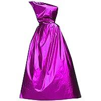 [125cmパープル]ハロウィンフード付きのクローククリスマスパーティーコスプレ衣装