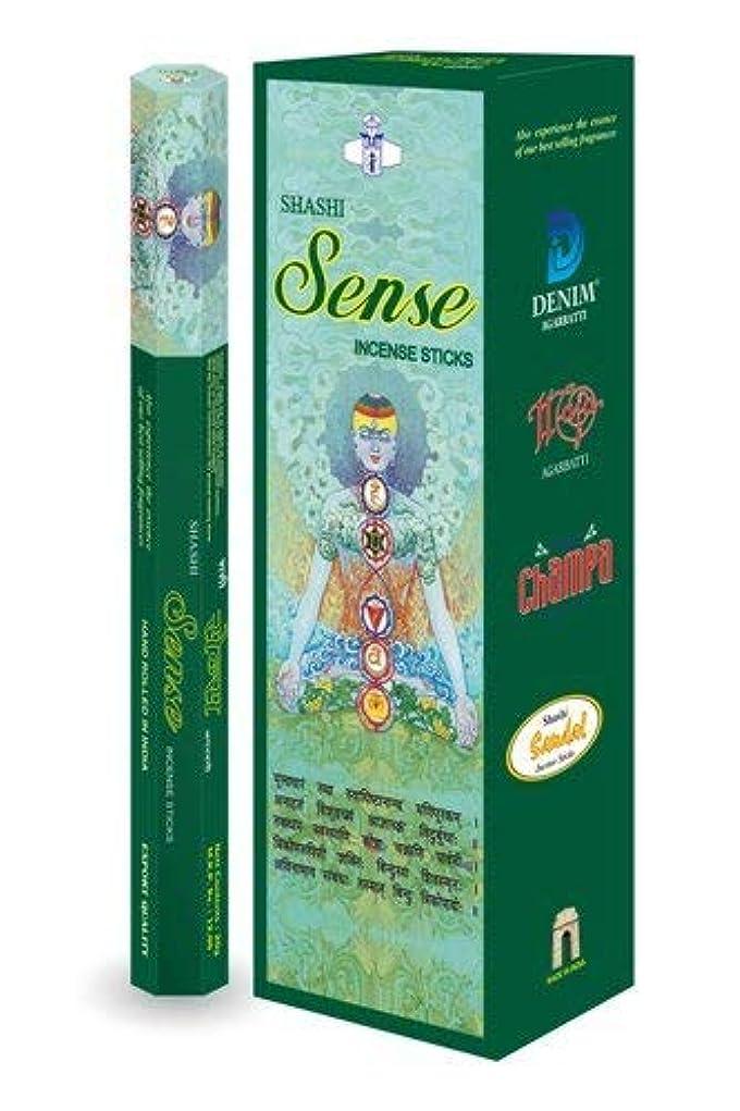太陽食料品店ドリルShashi's Sense Insense Sticks (Pack of 6)