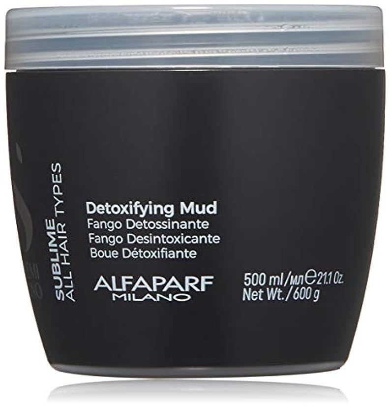 なしで増加するブラケットアルファパルフ Semi Di Lino Sublime Detoxifying Mud (All Hair Types) 500ml/21.1oz並行輸入品