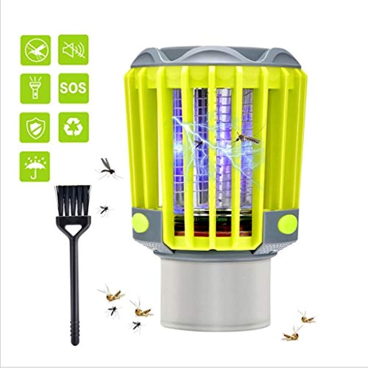 モジュールリーン宣伝蚊キラーランプ電気虫ザッパー、多機能防水USBいいえ放射線ミュートLEDランプホーム屋内屋外