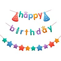 (Hapipana) 誕生日 飾り付け ガーランド セット 25 ピース happy birthday ガラーンド 装飾
