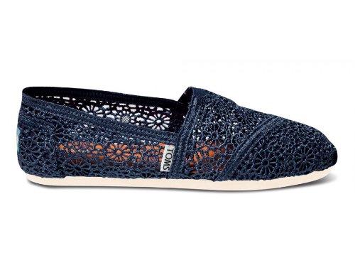TOMS shoes Crochet Womens classics