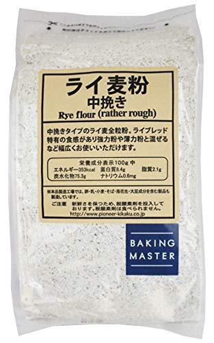 [Amazon限定ブランド] BAKING MASTER ライ麦粉中挽き 1kg