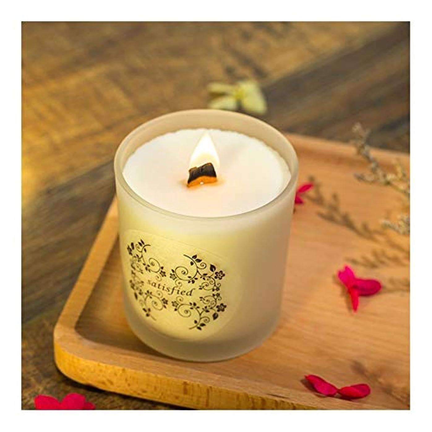 ウィスキー表現哲学Ztian 大豆香料入りキャンドルロマンチックな香料入りキャンドル輸入エッセンシャルオイルキャンドルアロマセラピーガラス無煙 (色 : Lavender)