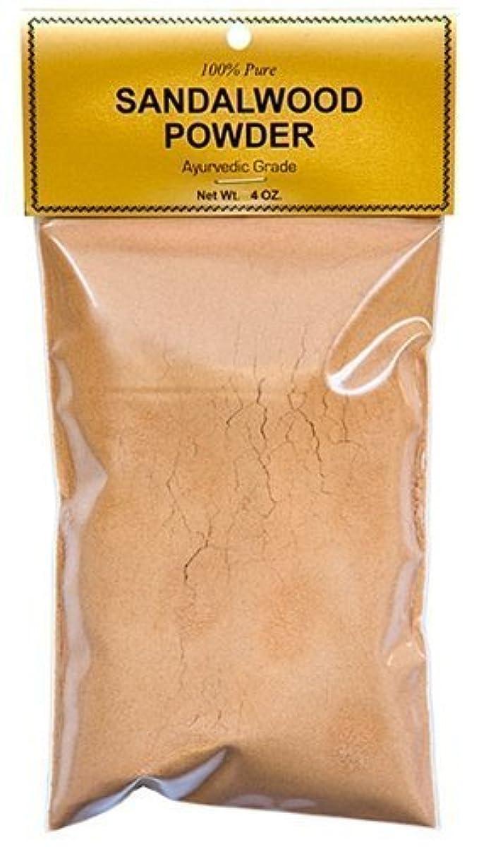 枢機卿接辞サリーPure Sandalwood Powder - Four Ounce Bag by Sandalwood [並行輸入品]