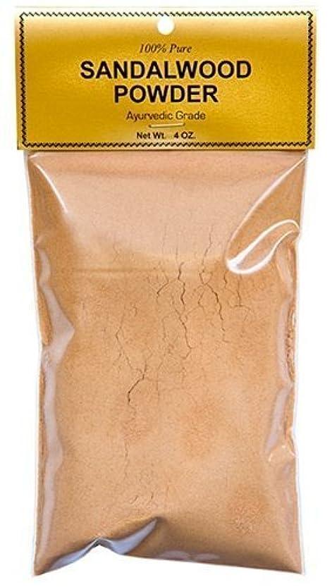摂動派生する飾るPure Sandalwood Powder - Four Ounce Bag by Sandalwood [並行輸入品]