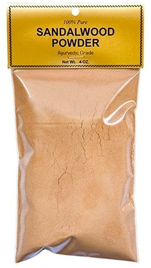 抗議蒸気いっぱいPure Sandalwood Powder - Four Ounce Bag by Sandalwood [並行輸入品]