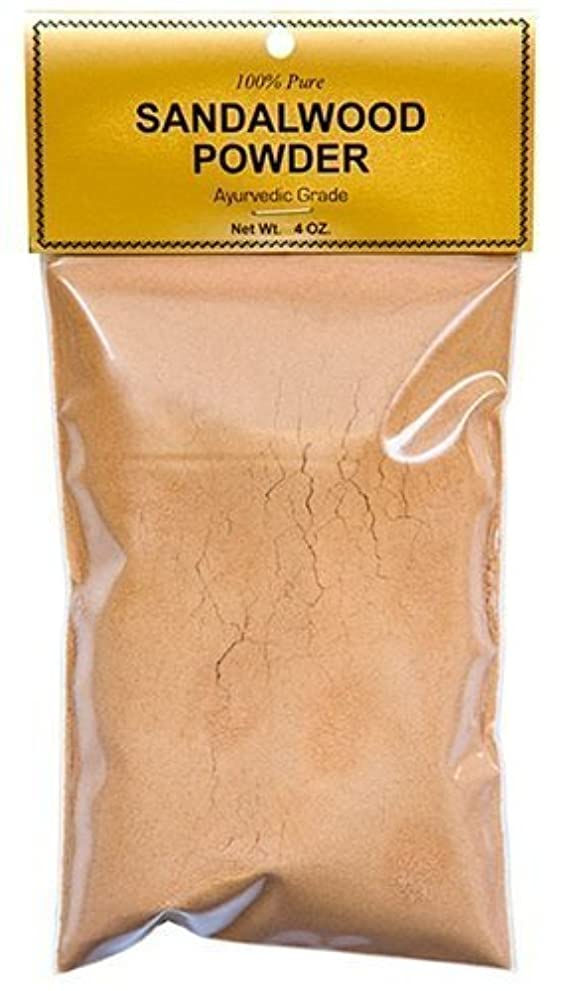 弱い聞きますバンドPure Sandalwood Powder - Four Ounce Bag by Sandalwood [並行輸入品]