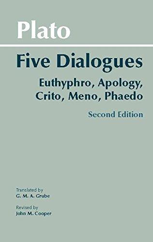 Download Five Dialogues (Hackett Classics) 0872206335
