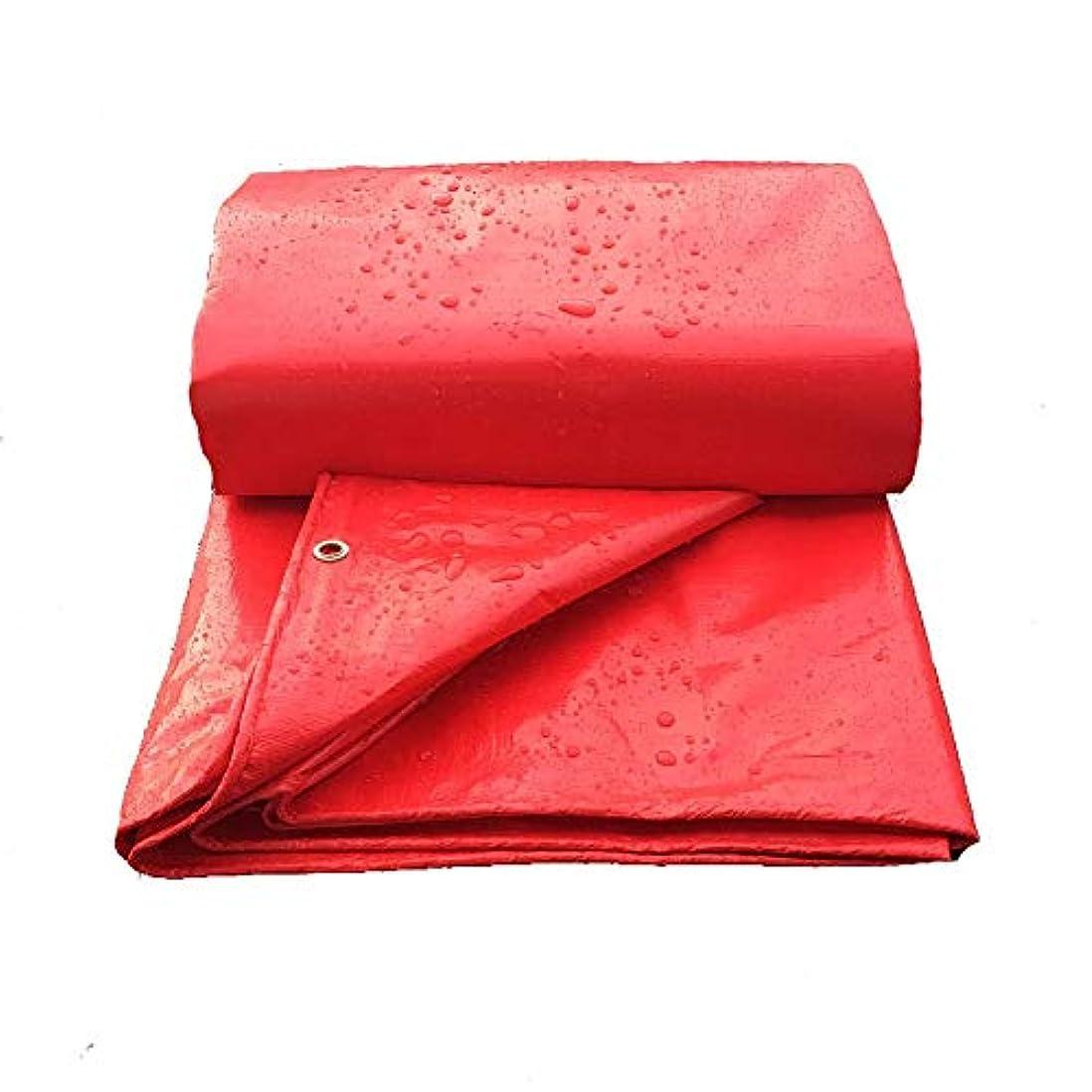 お母さん不機嫌そうな契約19-yiruculture 防水布防水防水防水シート、カーゴ日焼け止め断熱活動の広がり、防塵、防風、耐摩耗性とアンチエイジング、 (Color : 赤, サイズ : 6x10M)