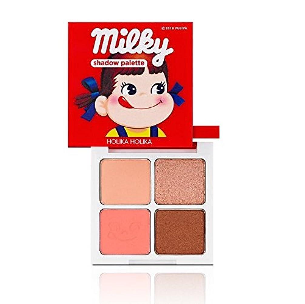 Holika Holika [Sweet Peko Edition] 4 Shadow Palette #01 Strawberry Caramel/ホリカホリカ [スイートペコエディション] 4色シャドウパレット [並行輸入品]