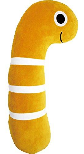プライムナカムラ やわらか抱きまくらクッション (ニシキアナゴ) ふわふわ 柔らかい 癒し 休憩 オフィス PN-2392-298