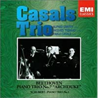 ベートーヴェン : 大公トリオ、シューベルト : ピアノ三重奏曲第1番