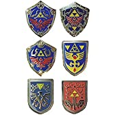 ゼルダの伝説 シールドピンバッジコレクション 全6種セット