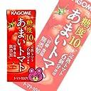 カゴメ あまいトマト 200ml紙パック×24本入×(2ケース)